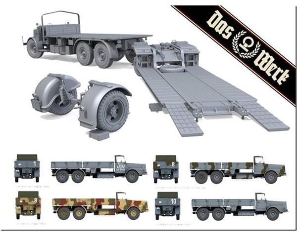 Das Werk DW35003 Faun L900 incl Sd.Ah.115   1//35