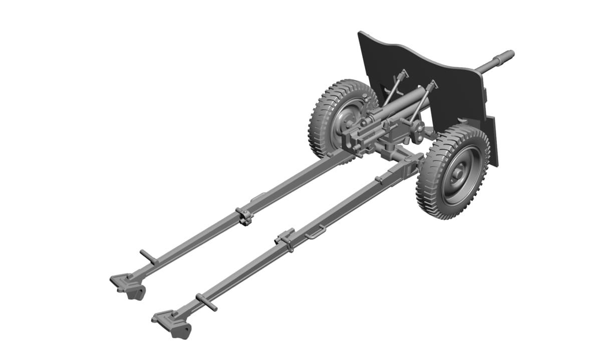 SPECIAL ARMOUR 35004 3,7cm KPUV vz in 1:35 t 37M 3,7cm PAK 37