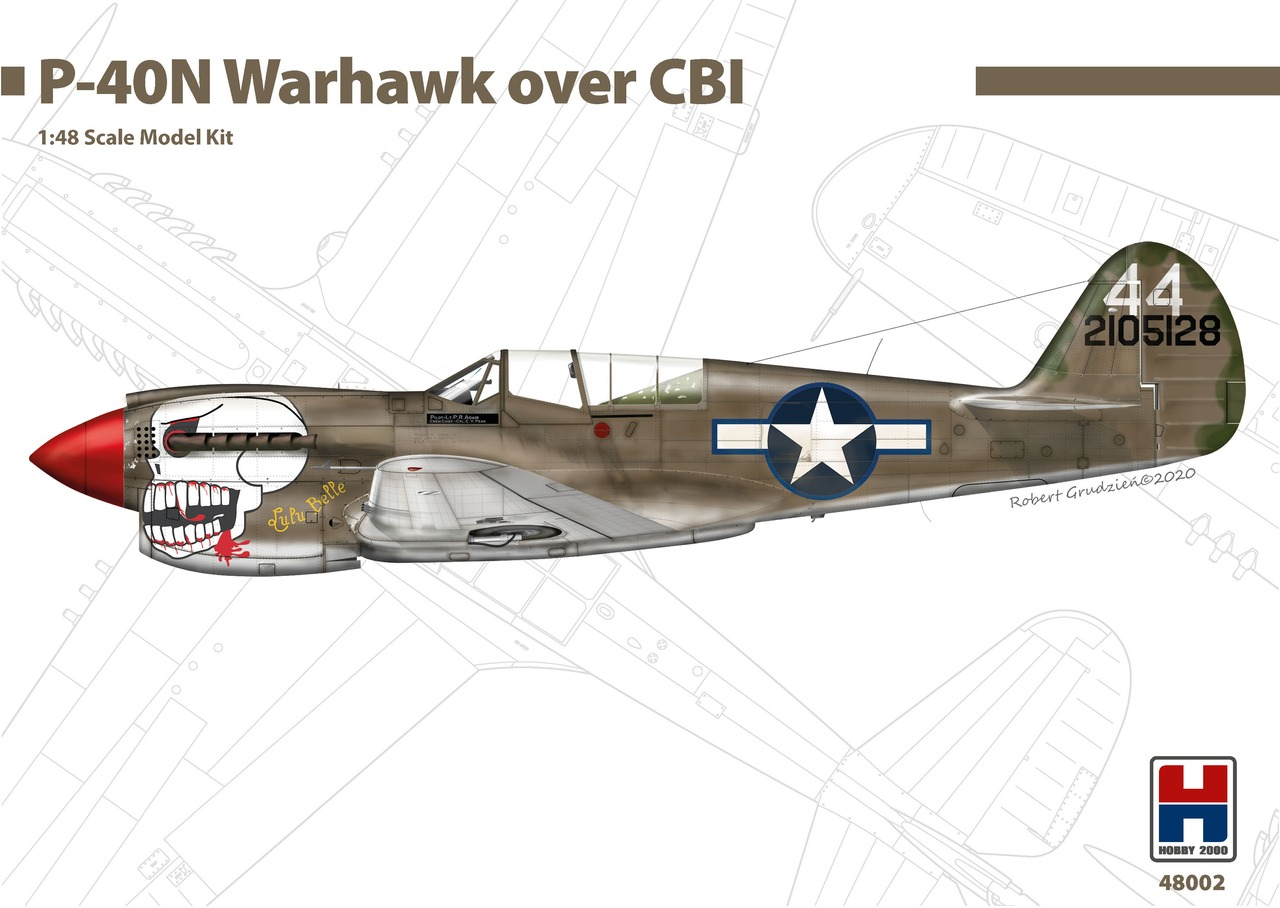 New Hobby 2000 model kits: P-40 Warhawk and P-47M Thunderbolt