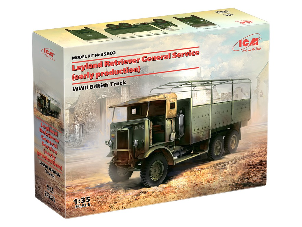 Two new truck model kits in 1/35 scale and other news from Zvezda, ICM, Aoshima and Hataka